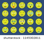 set of 20 icons such as... | Shutterstock .eps vector #1145302811