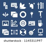 set of 20 icons such as laptop  ...