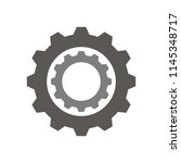 cogwheel and development icon.... | Shutterstock .eps vector #1145348717