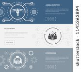 startup 3 horizontal webpage...
