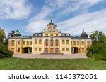 the baroque belvedere castle... | Shutterstock . vector #1145372051