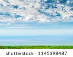 blue sky and beautiful cloud...   Shutterstock . vector #1145398487