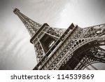 the eiffel tower  paris | Shutterstock . vector #114539869