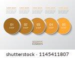 vector business template for... | Shutterstock .eps vector #1145411807
