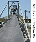 incline conveyor with rubber... | Shutterstock . vector #114541885