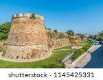 castel of chios a north aegean... | Shutterstock . vector #1145425331