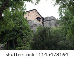 meteora  place with the... | Shutterstock . vector #1145478164