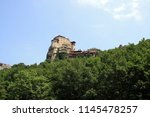 meteora  place with the... | Shutterstock . vector #1145478257