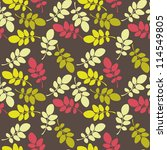 seamless floral pattern.... | Shutterstock .eps vector #114549805