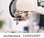 robotic machine tool in... | Shutterstock . vector #1145513357