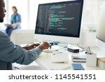 computer programming specialist ... | Shutterstock . vector #1145541551