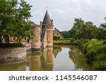 Small photo of Renascence castle in Lassay-sur-Croisne, Loire Valley, France