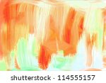 abstract painting | Shutterstock . vector #114555157