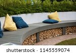 example of a decor of a... | Shutterstock . vector #1145559074