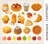 Big Variety Of Apples Icons And ...