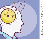 human mind concept   Shutterstock .eps vector #1145575751