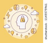 human mind concept   Shutterstock .eps vector #1145575961