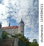albrecht castle in meissen | Shutterstock . vector #1145584211