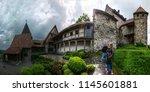 balzers  liechtenstein  ...   Shutterstock . vector #1145601881