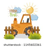 farm fresh cartoons   Shutterstock .eps vector #1145602361