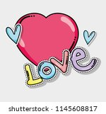 love cute card | Shutterstock .eps vector #1145608817