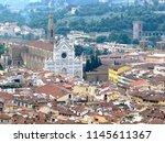 Santa Croce Church In Florence...
