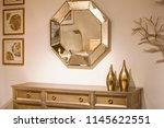 golden interior  part of the... | Shutterstock . vector #1145622551