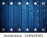 usa wooden background | Shutterstock . vector #1145629301