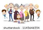 vector cartoon illustration of... | Shutterstock .eps vector #1145646554