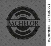bachelor retro style black...   Shutterstock .eps vector #1145687021