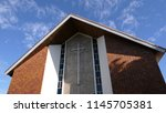 shot of religious chapel or... | Shutterstock . vector #1145705381