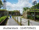 osaka  japan   jul 13  2015.... | Shutterstock . vector #1145735621