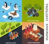 drastic plastic design concept... | Shutterstock .eps vector #1145752961