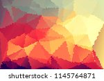 abstract colorful polygonal... | Shutterstock . vector #1145764871
