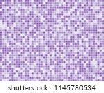 purple square mosaic tiles... | Shutterstock .eps vector #1145780534