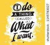 inspirational quote  motivation.... | Shutterstock .eps vector #1145783027