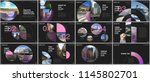 minimal presentations design ... | Shutterstock .eps vector #1145802701
