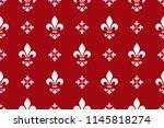 floral pattern. vintage... | Shutterstock .eps vector #1145818274