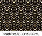 wallpaper in the style of... | Shutterstock .eps vector #1145818391