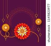 illustration of raksha bandhan... | Shutterstock .eps vector #1145823977