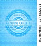 genuine quality sky blue water... | Shutterstock .eps vector #1145832191