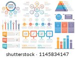 infographic elements   circle...   Shutterstock .eps vector #1145834147