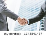 business concept  businessman... | Shutterstock . vector #1145841497