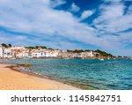 sea landscape with cadaques ...   Shutterstock . vector #1145842751