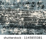 abstract grunge vector... | Shutterstock .eps vector #1145855381