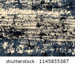 abstract grunge vector... | Shutterstock .eps vector #1145855387