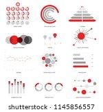 infographic elements  global... | Shutterstock .eps vector #1145856557