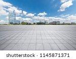 panoramic skyline and modern... | Shutterstock . vector #1145871371