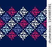 polka dot seamless pattern.... | Shutterstock .eps vector #1145885381