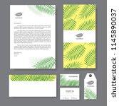 branding identity template... | Shutterstock .eps vector #1145890037